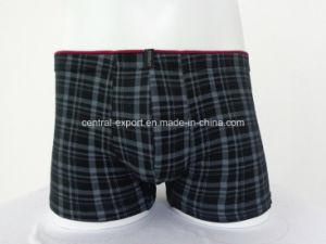 New Fashion Check Men Boxer Short Men′s Underwear pictures & photos