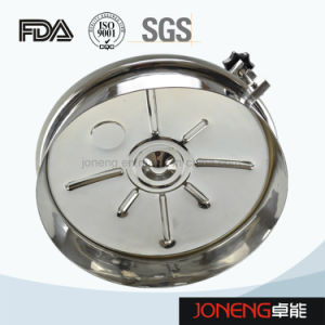 Stainless Steel Hygienic Round Type Manhole Cover (JN-ML2003) pictures & photos