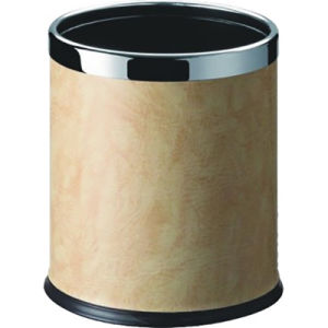 Hotel Bathroom Accessories Round Base Trash Can Waste Bin pictures & photos