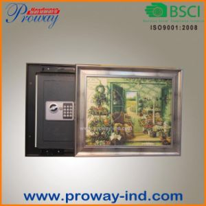 Electronic Digital Lock Wall Safe Hidden in Picture High Security OEM Size pictures & photos