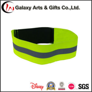Reflective Sport Armband with Hook & Loop Closure Custom Elastic Armband