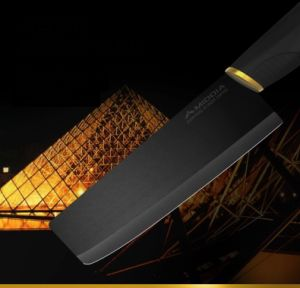 New Design Black Blade Ceramic Cleaver in 6 Inch for Cooking pictures & photos