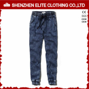 Wholesale Popular Denin Jogging Pants with Pockets (ELTJI-6) pictures & photos