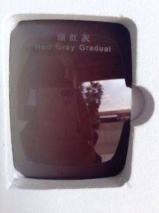 High Quality Polarized Tac Lens for Sunglasses Red Gray Gradual pictures & photos