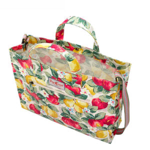 Waterproof Canvas Open Closure Strap Lady Handbag (592987) pictures & photos