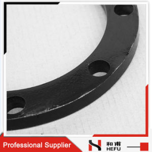 Cheap Flat Connecting PE Pipe Coated Steel Flange Plate pictures & photos