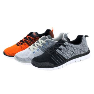 New Design Adult Yezi Men Casual Flynit Shoes pictures & photos