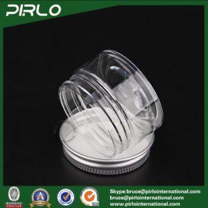 20g Transparent Pet Plastic Jar Skin Care Cream Facial Mask Plastic Container with Aluminum Lid Cosmetic Cream Plastic Jar pictures & photos