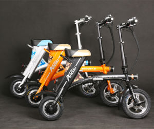 36V 250W Electric Bike Electric Scooter Folded Scooter Folding Electric Bicycle pictures & photos