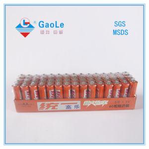 Hot Sale Um-3 Carbon Zinc Battery R06 AA Size pictures & photos