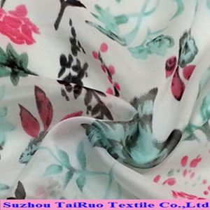 2016 Digital Fabric Textile 100% Polyester Silk Chiffon Printed Fabric Wholesale pictures & photos