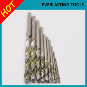 HSS Drill Bit Diamond Twist Drill Bits for Agate Drilling pictures & photos