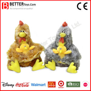 Mother′s Day Soft Stuffed Animal Hen Hold Chicken Toy pictures & photos