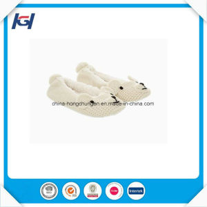 New Design Cute Knitted Soft Christmas Ballet Slippers for Lady pictures & photos