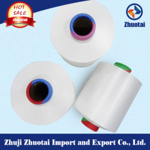 70d/68f/2 Semi Dull Raw White High Stretch Nylon 6 Yarn pictures & photos