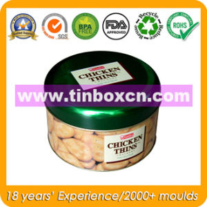 Cookie Metal Box with Food Grade, Snack Tin Box pictures & photos