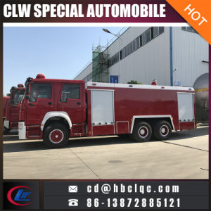Sino 340HP 12mt Fire Fighting Engine Water Foam Fire Extinguisher pictures & photos