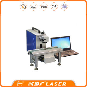 Ipg Raycu Sjpt Laser Source Moving Portable Fiber Laser Marking Machine for Bottle Printer pictures & photos