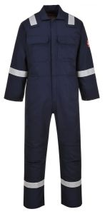 Dark Color 100% Cotton Flame Retardant Coverall pictures & photos