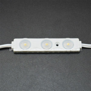 LED Injection Module White Color Waterproof 3SMD5630 12V 1.5W LED Module pictures & photos