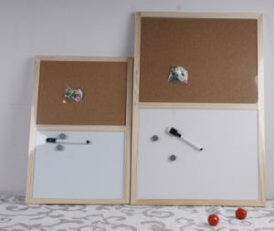 White Board with Cork Message Board pictures & photos