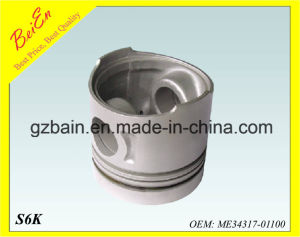 Piston for Excavator Engine S6K (Part Number: Me34317-01100) pictures & photos