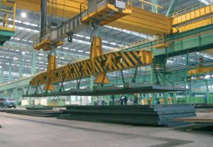 Lifting Electric Magnet for Steel Plate in The Steel Mill pictures & photos