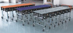 Flexible Motorized Roller Conveyor/ O Blet Conveyor pictures & photos