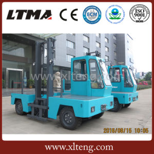China 3 Ton Electric Side Loader Forklift Price for Sale pictures & photos