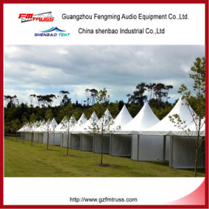 Mobile Pagoda Garden Tent Structure Fast to Install for Outdoor Events pictures & photos