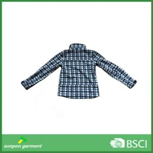 Full Printing Outwear Breathable Jacket Waterproof Softshell Jacket pictures & photos