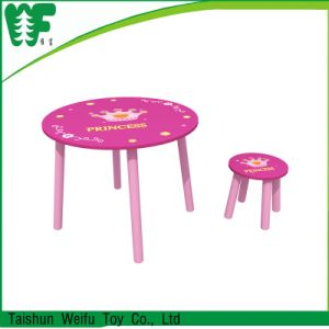 New Style Kids Wooden Toy Table Chairs pictures & photos
