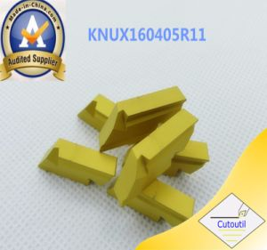 Cutoutil Knux160410r11 for Steel   Carbide Inserts pictures & photos