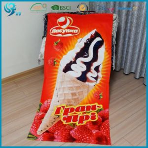 Factory Direct-Selling 100% Cotton Reactive Printing Promotion Beach Towel pictures & photos