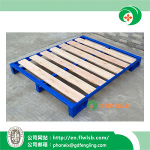 The Stackable Steel-Wood Tray for Transportation with Ce pictures & photos