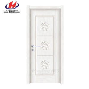 Moulded Exterior Toilet Plastic Solid Wood PVC Doors (JHK-P15) pictures & photos