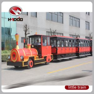 62 Seats Electric Sightseeing Train Green Power Bus Park Car pictures & photos