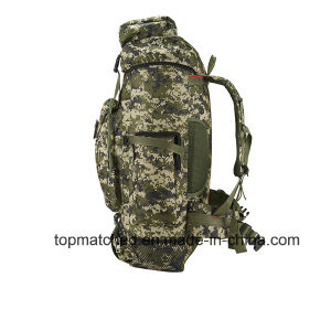 Best Selling Products 65L Hiking Mountaineer Brand Backpack Custom Gym Bag pictures & photos