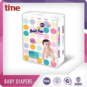 Yoursun Super Absorbent Sleepy Baby Diapers pictures & photos