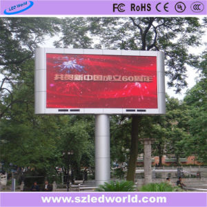 P10 Outdoor Full Color Fixed SMD3535 High Brightness LED Display Panel for Advertising pictures & photos