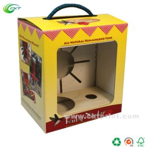 Custom Display Cardboard Paper Boxes with Window (CKT-CB-404)
