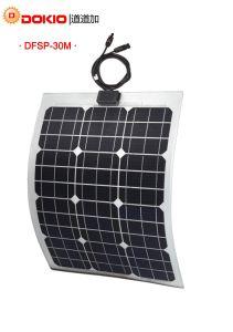 Dokio Flexible Solar Panel 20W Mono pictures & photos