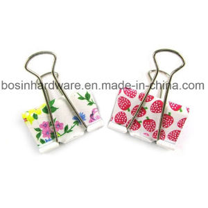 High Quality Colored Metal Binder Clips pictures & photos