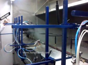 Fixed-Gun UV Automatic Spray Coating Line pictures & photos