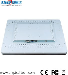 "21.5"" Pcap Touch Screen Monitor for Digital Signage Kiosk, VGA+DVI+HDMI Port pictures & photos"