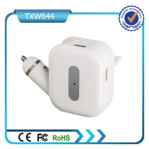 5V 2A Dual USB Ports Car and Wall Charger pictures & photos