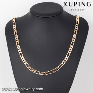 43194 Hot Sales Fashion Men Statement Chain Necklace in Gold-Plated pictures & photos