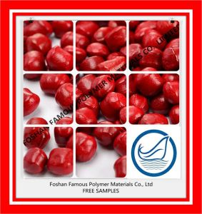 Red Plastic Masterabtch Pigment PVC/ Pert/ PPR/ ABS Granules for Injection Moulding pictures & photos