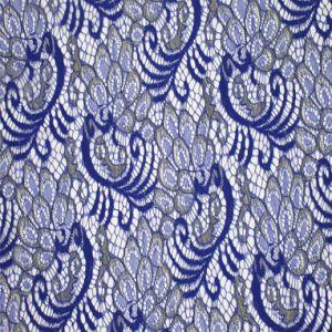 Unique Gold Flower Design Textile French Lace Fabric pictures & photos