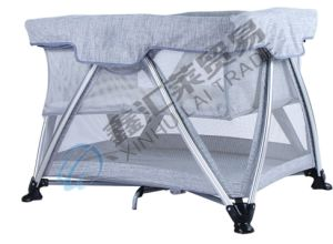 En716 Approved Folding Portable Baby Playpen pictures & photos